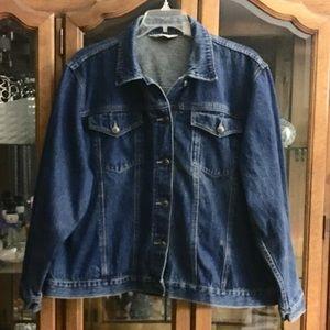 St. John's Bay Denim Jacket Size 24❣️❣️